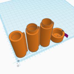 Télécharger fichier STL a été conçu pour étendre les capacités d'alimentation d'un bloc-piles 2Cell AA à 3+ ou plus • Objet pour imprimante 3D, Isepic