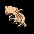 Télécharger fichier STL gratuit Pendentif à la rose • Design imprimable en 3D, Isepic
