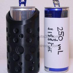 250-first-bubble-wasser.jpg Télécharger fichier STL CanCooler 250ml (comme les boissons énergétiques) • Plan à imprimer en 3D, Printcible