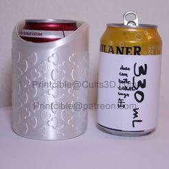 330-short-heart-wasser.jpg Télécharger fichier STL CanCooler 330ml (boîte courte) • Modèle à imprimer en 3D, Printcible