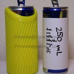 250-stribes-wasser.jpg Télécharger fichier STL CanCooler 250ml (comme les boissons énergétiques) • Plan à imprimer en 3D, Printcible