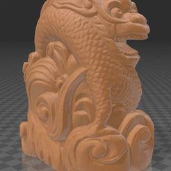Dragon01.JPG Télécharger fichier STL Dragon sculpteur sur bois • Plan pour imprimante 3D, Printcible