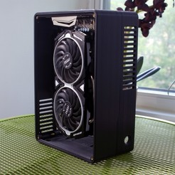Descargar STL Project Flip - Caja para PC Mini-ITX SFF de 6 litros, ccricers