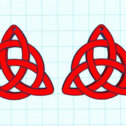 CapturaHUHOHUH.PNG Télécharger fichier STL BOUCLES D'OREILLES CELTIQUES • Design imprimable en 3D, mistic-3d