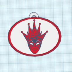 Captura.PNG Download STL file boris brejcha key ring 2 • 3D printer model, mistic-3d