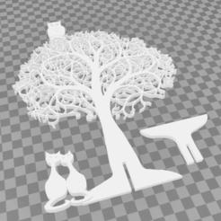Download 3D printer templates magic tree, mistic-3d