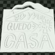 Capturahjvvg.PNG Télécharger fichier STL gratuit JE RESTE À LA MAISON. • Design à imprimer en 3D, mistic-3d