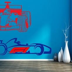 542586.jpg Download STL file F1 RACE X2 • Model to 3D print, mistic-3d