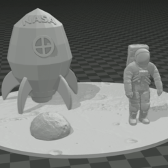 Capturayt66r.PNG Download STL file TRIP TO THE MOON • 3D printer object, mistic-3d