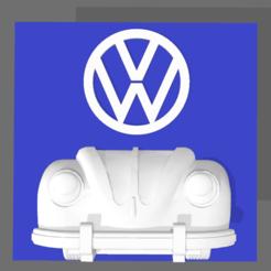 Screenshot_7.png Download STL file VW DECO BEETLE • 3D printable template, mistic-3d