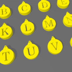 Screenshot_6.png Download STL file LETTERS AND NUMBERS BALLOONS • 3D printer object, mistic-3d