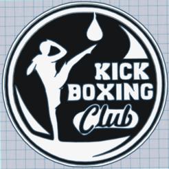 Download 3D printer templates kick boxing club, mistic-3d
