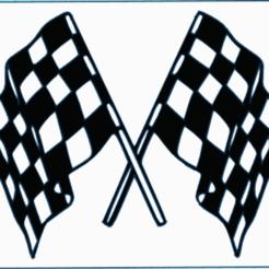 RRT.PNG Download STL file RACING FLAG • 3D print template, mistic-3d