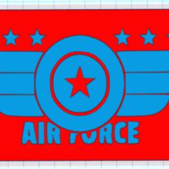 CapturaBVVMN.PNG Télécharger fichier STL gratuit FORCE AERIENNE • Design imprimable en 3D, mistic-3d