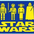 Download STL file STAR WARS, mistic-3d