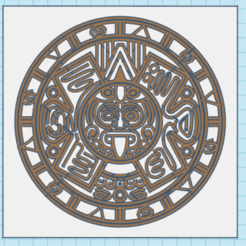 CapturaKOKÓK.PNG Télécharger fichier STL CALENDRIER MAYA TABLEAU 3D • Design imprimable en 3D, mistic-3d