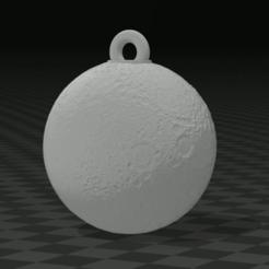 CapturaBJVJV.PNG Télécharger fichier STL PORTE-CLÉS LUNE PORTE-CLÉS LUNE • Modèle imprimable en 3D, mistic-3d