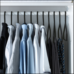 Download free STL file CLOTHING HANGER • Design to 3D print, mistic-3d