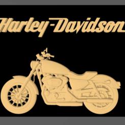 Screenshot_4.png Télécharger fichier STL HARLEY DAVIDSON DECO • Plan pour impression 3D, mistic-3d