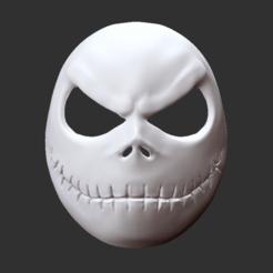 jack.png Download STL file Jack skellington mask • 3D printable model, alvarod90