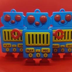 20200607_181905 (1).jpg Download STL file Mermelade Boy Voice Recorder • 3D printer design, Wabisabi3D