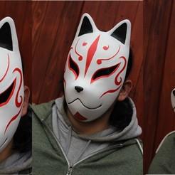 Imagen6.jpg Télécharger fichier STL masque de renard • Modèle pour imprimante 3D, alvarod90