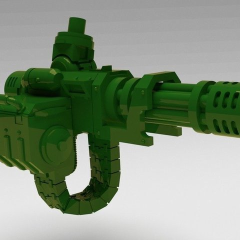ffecfc4bdec264354a4d2b08d1a6763e_display_large.jpg Download free STL file Chaingun, more pew-pew for you-you • Object to 3D print, FelixTheCrazy