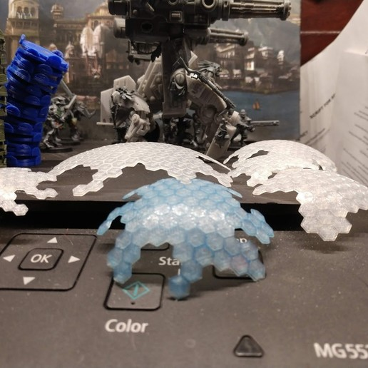 Télécharger plan imprimante 3D gatuit Boucliers ioniques tournants !, FelixTheCrazy