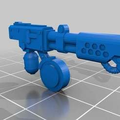 Download free 3D printing files Chrono Trigger Shoulder Mounted Flamer, FelixTheCrazy
