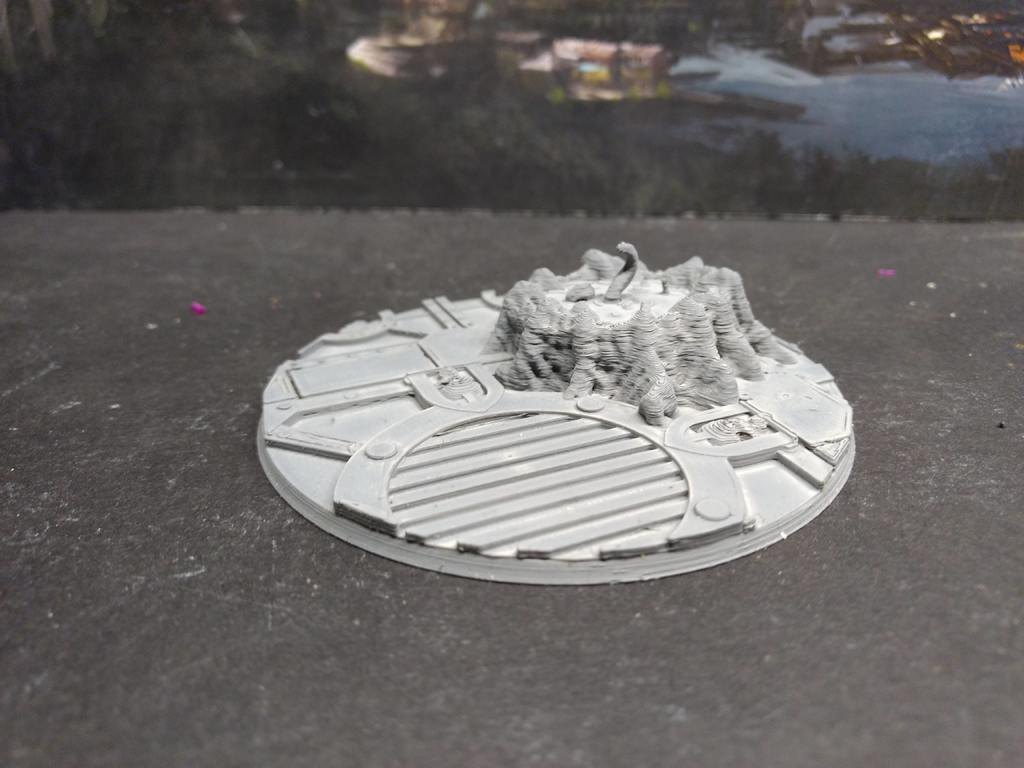 beeed48501edcd1383cb61c5a913099c_display_large.jpg Download free STL file Remixed 90mm base for Redemptor Dreadnought • 3D printer design, FelixTheCrazy