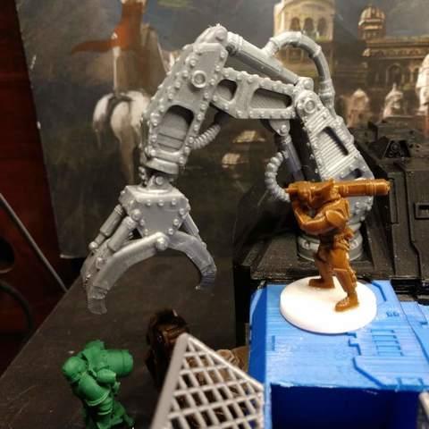 Descargar Modelos 3D para imprimir gratis ¡La Garra!, FelixTheCrazy