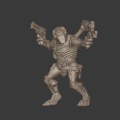 Keler23.png Download free STL file Cannibal Chickens 3GunXenoHunterSlinger • 3D printing object, FelixTheCrazy