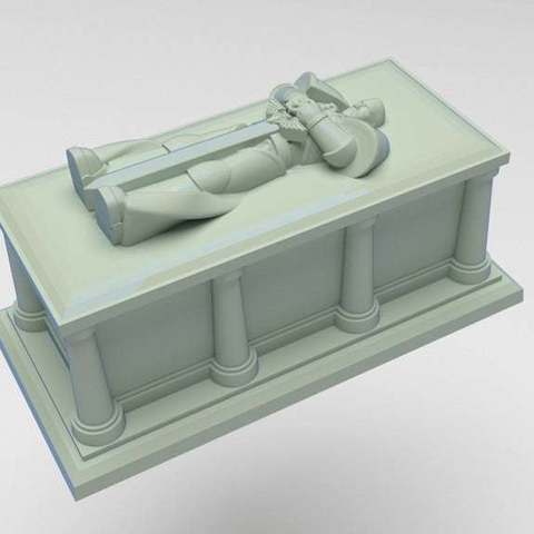 Download free 3D printer model Interstellar Soldier Casket, FelixTheCrazy