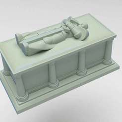 63067dfe79515f86d53e2d791e020d47_display_large.jpg Download free STL file Interstellar Soldier Casket • 3D printing model, FelixTheCrazy