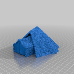 Hut2Final.png Download free STL file Cannibal Chicken Kamping Kabin • 3D printing object, FelixTheCrazy