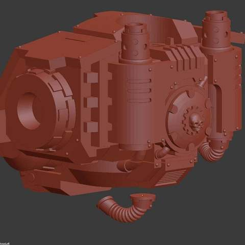82d5b1853bca3901a625d1e9a4247541_display_large.jpg Download free STL file Windup Automated Mausoleum for Nearly Dead Oversized Interstellar Jarheads • 3D printable template, FelixTheCrazy