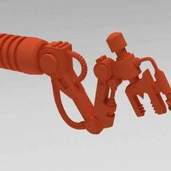 Download free 3D printing designs Servo Arm, Sand Walker, FelixTheCrazy