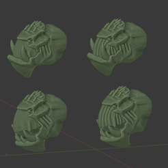 KrootOrksShop.png Download free STL file Cannibal Chicken Orky Oxen Heads • Design to 3D print, FelixTheCrazy