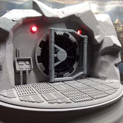 Download free 3D model Fallout vault door hinge and hollow base, remix, FelixTheCrazy