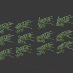 HeadShop.png Download free STL file Alternate Cannibal Chicken Heads. • 3D print model, FelixTheCrazy