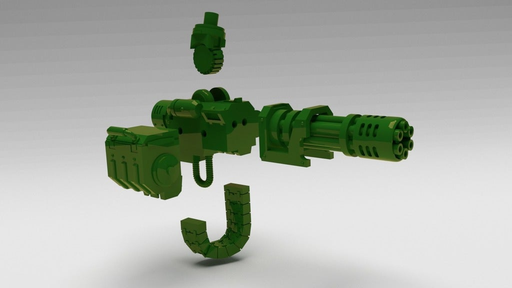 fd78363d5cd247e1898ec53c7d968bd0_display_large.jpg Download free STL file Chaingun, more pew-pew for you-you • Object to 3D print, FelixTheCrazy