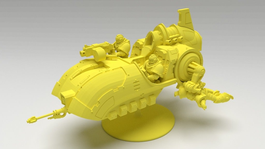 8bc5f5cb4a286bd8399aff50b2edc855_display_large.jpg Download free STL file Angry Air - Frugal Displeased Soldier Deployment Vessel • 3D printing model, FelixTheCrazy
