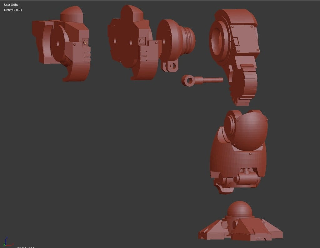 f6cb7472bc17417206362432e3b7cb04_display_large.jpg Download free STL file Windup Automated Mausoleum for Nearly Dead Oversized Interstellar Jarheads • 3D printable template, FelixTheCrazy