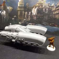 Fichier impression 3D gratuit Wagon de conciergerie romain interstellaire à gousses à roulettes, FelixTheCrazy