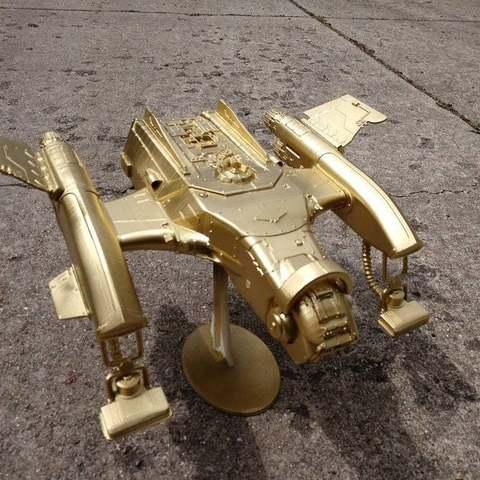 Download free 3D printer designs Interstellar Janitor's Rockin' and Rollin' Dual Hoovering Flying Floor Vac, FelixTheCrazy