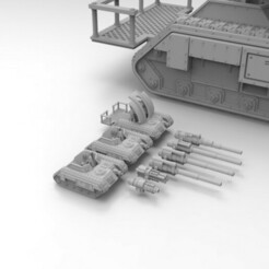 Chimera Chassis.417.jpg Download free STL file Epic Scale Self-Propelled Artillery • 3D print object, Mkhand_Industries