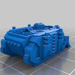 Download free 3D printing models Epic Scale Vindicator Laser Destroyer, Mkhand_Industries