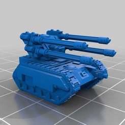 Descargar Modelos 3D para imprimir gratis Escala épica Hydra Flak Tank v4, Mkhand_Industries