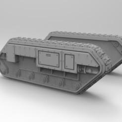 Impresiones 3D gratis Laterales de portaaviones multiusos del Ejército Interestelar, Mkhand_Industries