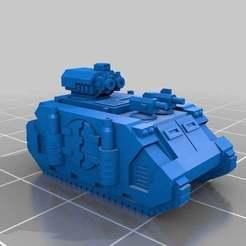 Download free 3D printer designs Epic Scale Deimos Pattern Razorback, Mkhand_Industries